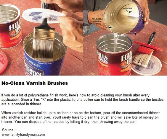 No-Clean Varnish Brushes