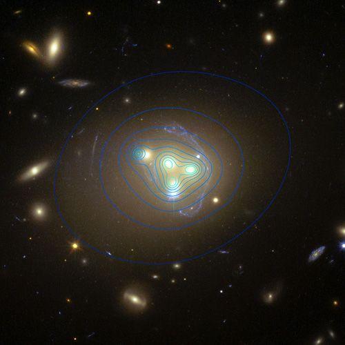 Dunkle Materie vielleicht doch nicht ganz so dunkel? . . . http://grenzwissenschaft-aktuell.blogspot.de/2015/04/dunkle-materie-vielleicht-doch-nicht.html . . . Abb.: ESO/R. Massey