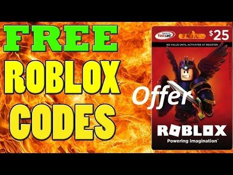 Free Roblox Codes Free Robux Gift Card Codes Promo Codes