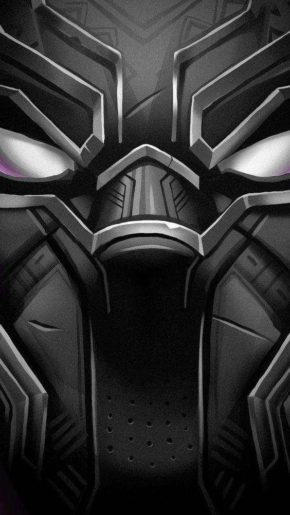 Pin By Luis Cervantes On Fondos Marvel Black Panther Face Black Panther Hd Wallpaper Black Panther Art