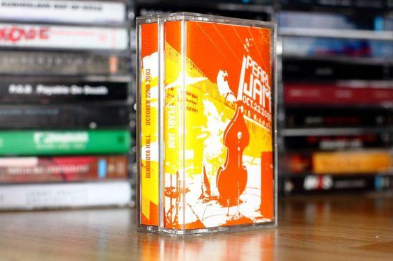 Pearl Jam Dual Cassette: Live at Benaroya Hall