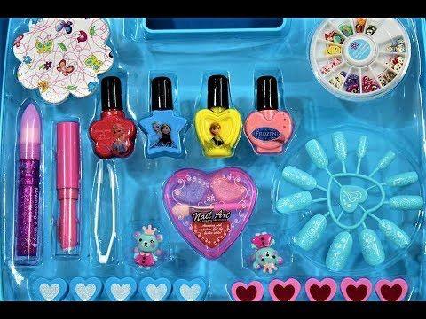 العاب المكياج الحقيقي للبنات شنطة المكياج و المناكير العاب بنات فقط Kids Toys Best Kids Toys Toys