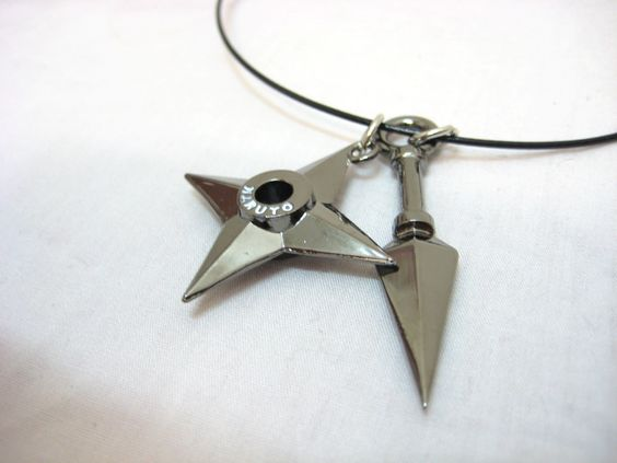 kunai AND shuriken?!? I love it!!