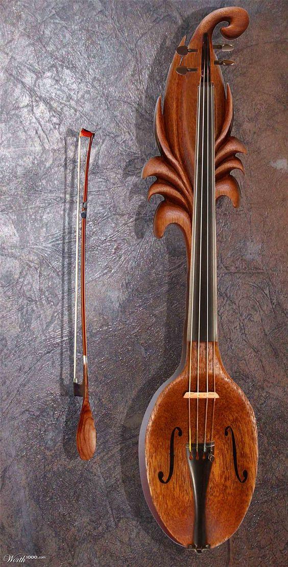 Violin Spoon | For The Love Of Music | Pinterest | Violon et Cuillères