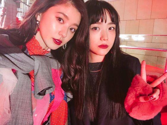 松井愛莉さんと朝比奈彩さん