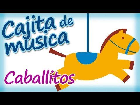 Cajita Musical para dormir y relajar bebés - Caballitos