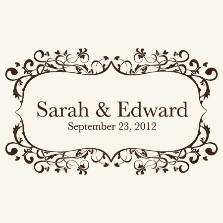 Classic yet Stylish, Dignified but Charming, Sophisticated and Simple. My Wedding Logos Elegant Logos represent the fairy tale wedding that you have always dreamed of.