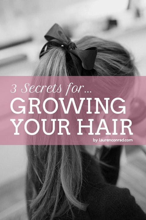 how to grow ur hair fast