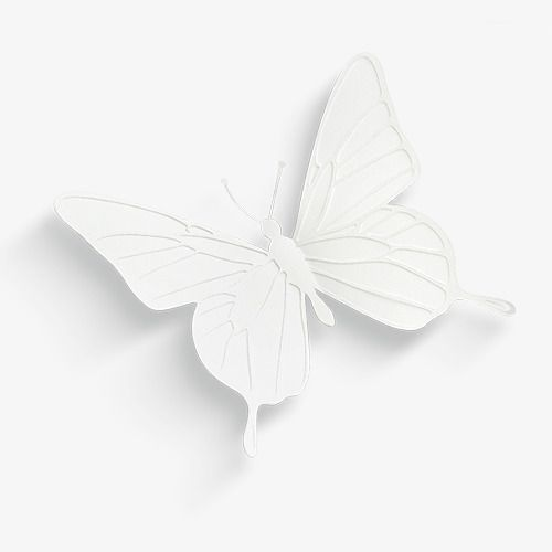Hermosa Mariposa Imagenes Predisenadas De Mariposa Tridimensional Blanco Png Y Psd Para Descargar Gratis Pngtree Beautiful Butterflies Butterfly Clip Art