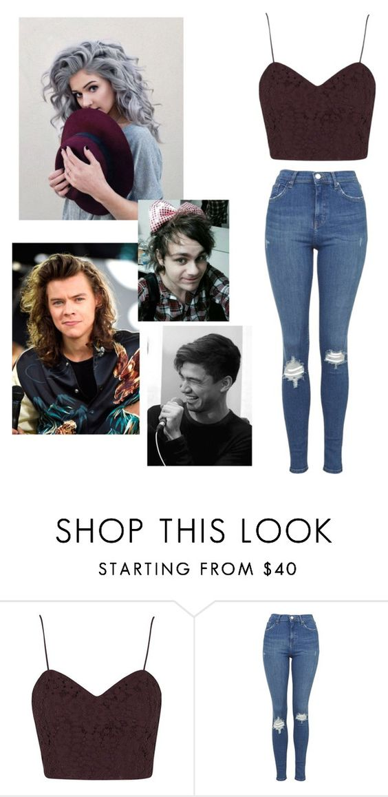 """""""Whose this Shadow holding me hostage"""" by lvishkai on Polyvore featuring Topshop, women's clothing, women's fashion, women, female, woman, misses and juniors"""