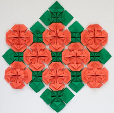 Origami Quilts: Wildflowers: