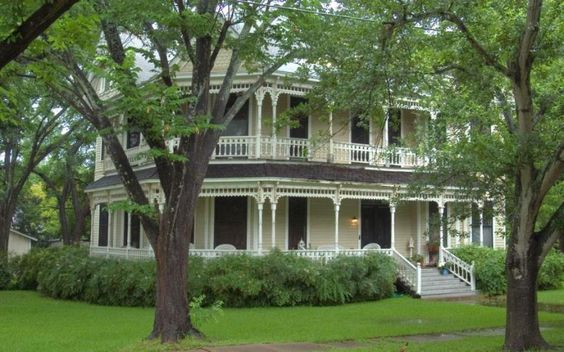 Victorian Texas And Porches On Pinterest