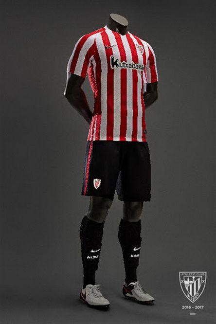 Ceci est le nouveau Maillot de foot Athletic Bilbao Domicile pour la saison 2016/2017;: