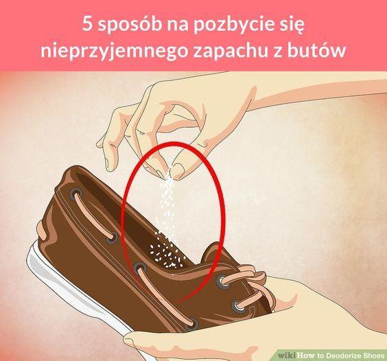 5 Sposob Na Pozbycie Sie Nieprzyjemnego Zapachu Z Butow Deodorize Shoes Diy Heels How To Make Shoes