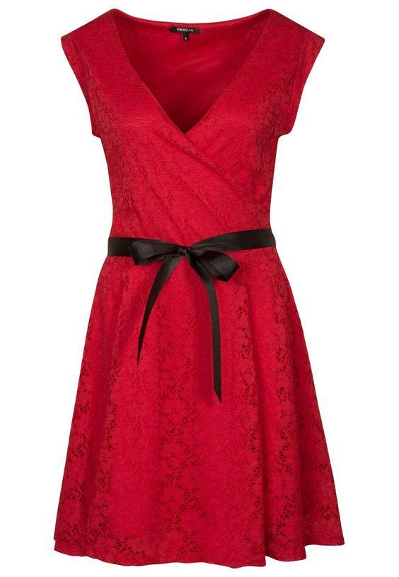 Morgan - RORETE - Vestido de cóctel - rojo