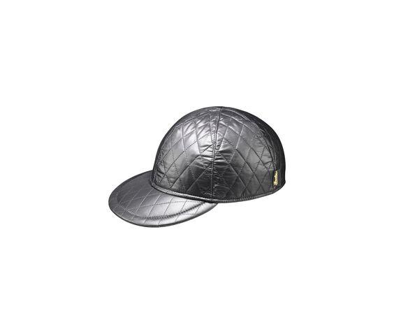 Waterproof hat. Product code: B95166T. Shop it here: http://shop.borsalino.com/it/collezione-uomo/autunno-inverno/cappelli-e-berretti-impermeabili/baseball-matellasse.