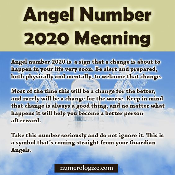Angel Number 2020 Spiritual Meaning