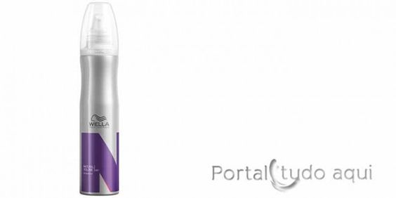 como-dar-volume-aos-cabelos-fnos- Wet Styling Natural Volume da Wella