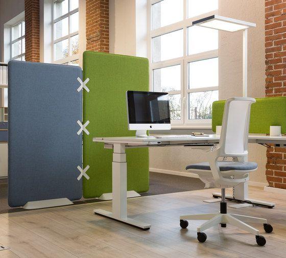 Winea X Standing panel by WINI Büromöbel | Space dividers