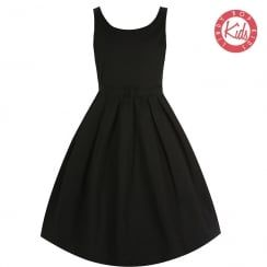 'Mini Lana' Black Party Dress