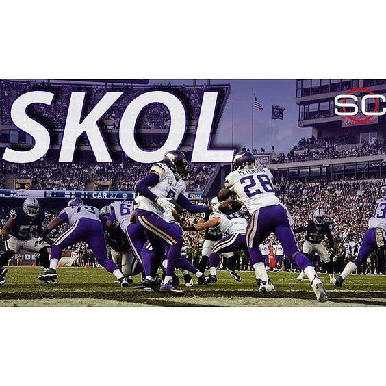 @Regrann from @sportscenter -  Vikings come away with a win in Oakland defeating Raiders 30-14.  Minnesota is now 1st in the NFC North. #Regrann