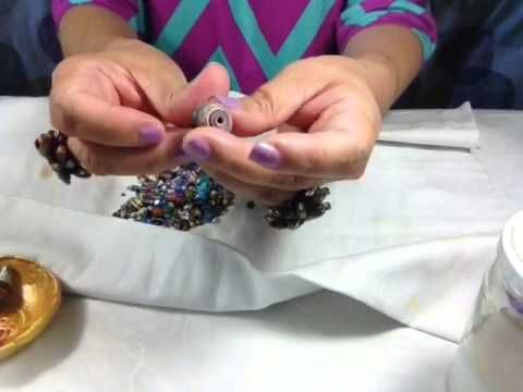 Vibrance Paper Glaze - YouTube How to properly string and glaze so they don't stick together.