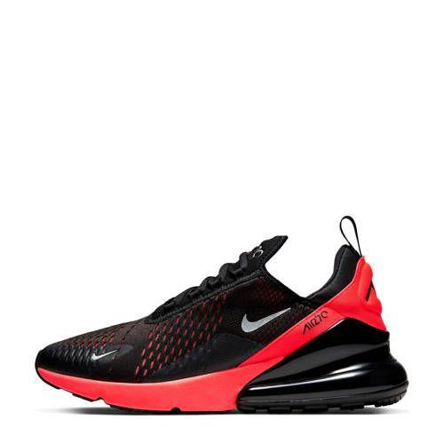 heren nike air max 270 zwart rood coupon code 2f21c 292ef