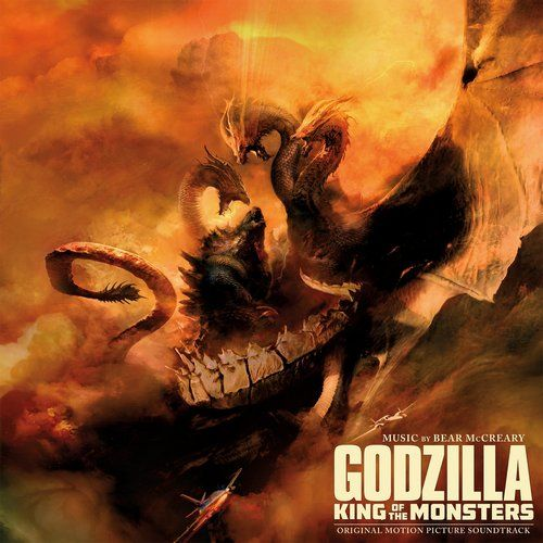 Original Motion Picture Soundtrack Vinyl 3 Lp From A Fantasy Monster Film Godzilla King Of The Monsters 2019 The Fi Godzilla Bear Mccreary Motion Picture