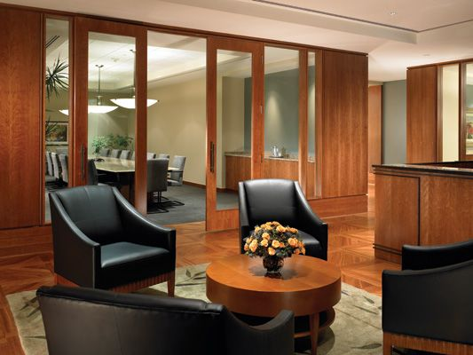 Interior Design For A Law Firm Office