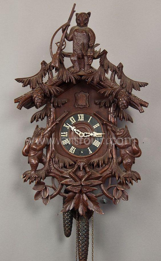 Pinterest the world s catalog of ideas - Wooden cuckoo clocks ...