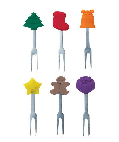 Take a look at this Holiday Cheer Party Pick Set by Home for the Holidays: Entertaining on #zulily today!