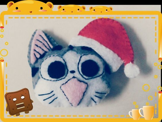 Chi with Santa hat by CarmenPay_Craft (Click for tutorials)