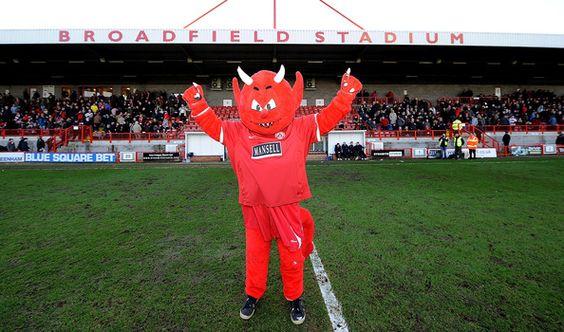 Crawley Town - Reggie Red.