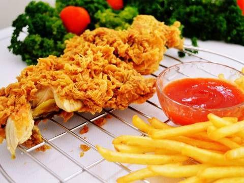 Resep Ayam Kfc Kw Super Kribo Renyah Tahan 8 Jam Cocok Untuk Jualan Oleh Wardat El Ouyun Resep Resep Ayam Resep Resep Masakan