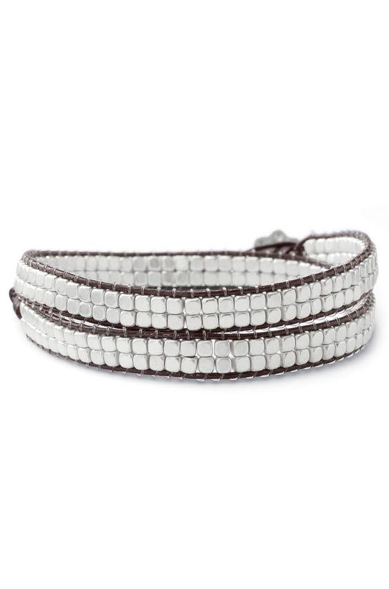stella & dot nugget bracelet.... so cool