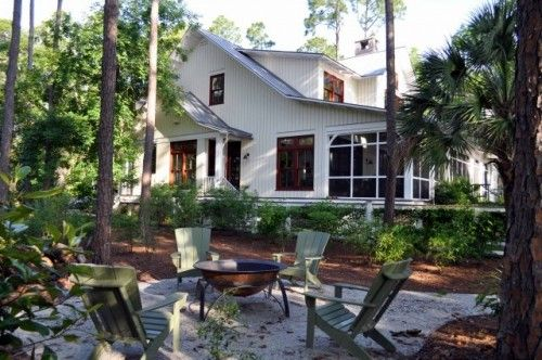 screened porches and patios...