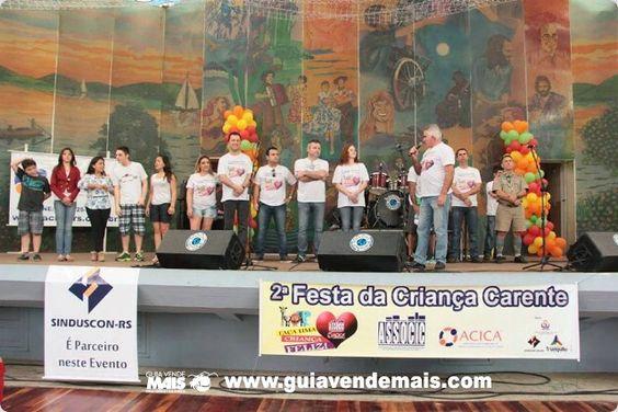 3ª FESTA DA CRIANÇA CARENTE DE CAPÃO DA CANOA É NESTE DOMINGO, DIA 12, NO GINÁSIO OTTO BIRLEM