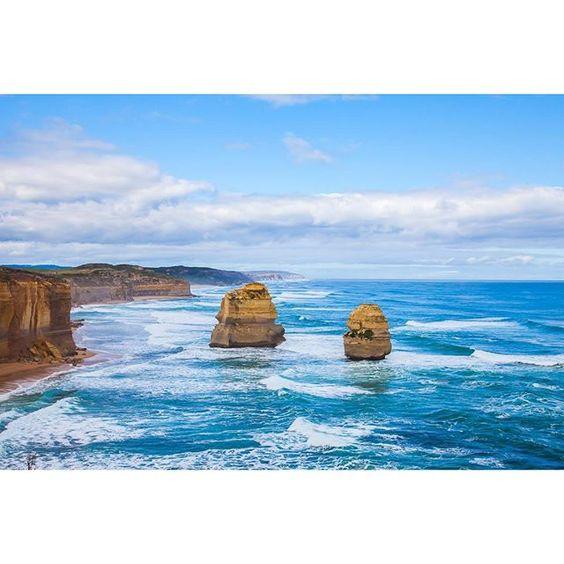 #tewelveapostles #repost #12apostles #sea #coast #coastline #greatoceanroad #melbourne #victoria #australia #canonau #canonaustralia #canon5dii by saberbaluch http://ift.tt/1ijk11S
