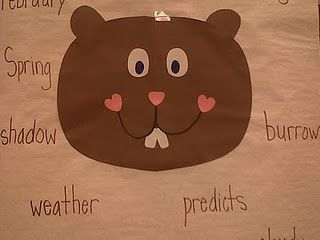 Very cute!  Words that describe Groundhog's Day...