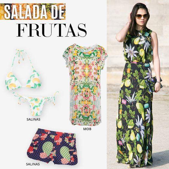 Compre moda com conteúdo, www.oqvestir.com.br #Fashion #Summer #News #Fruits #Shop