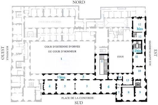 3 Le Garde Meuble Royal Actuel Hotel De La Marine Salles D Exposition Du Garde Meuble 2 Grand Degre 3 Galeries Des Tapisse Garde Meuble Hotel Salon Rouge