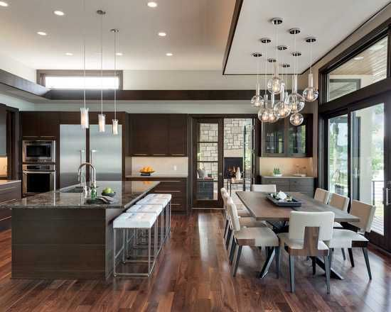 20 Amazing Large Kitchen Design Ideas In 2020 Large Kitchen Design Contemporary House Kitchen Design
