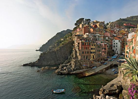 Cinque Terre, a rugged portion of coast on the Italian Riviera - love it!!!