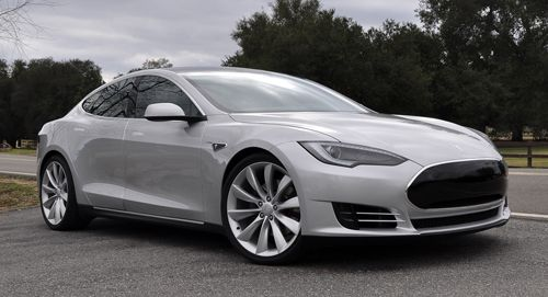 Tesla Model S Door Family Sports Car That S Electric