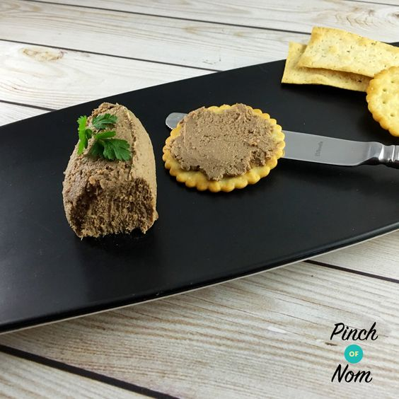 Syn Free Chicken Liver and Bacon Pate | Slimming World - https://pinchofnom.com/recipes/syn-free-chicken-liver-and-bacon-pate-slimming-world/