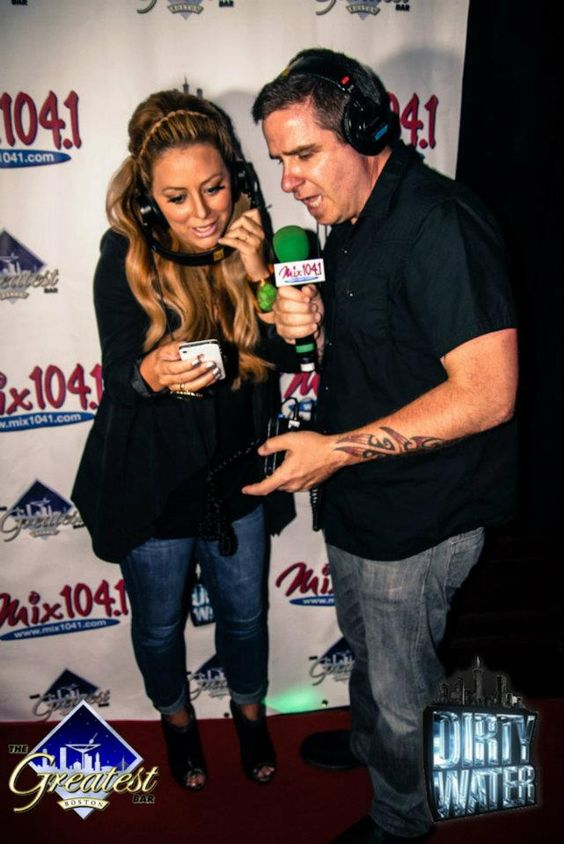 Mix 104.1's Salt with Aubrey O'Day