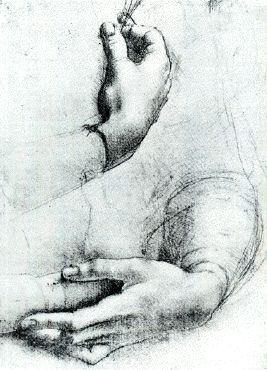 Leonard de Vinci - Hands