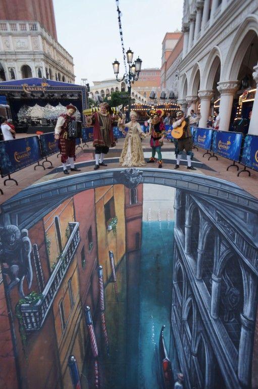 Impressive 3d Street Art That Will Trick Your Eye Macau