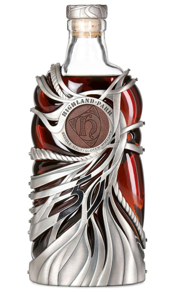 Highland Park 50 Year Old. Looks elven – like something out of Lord of the Rings.