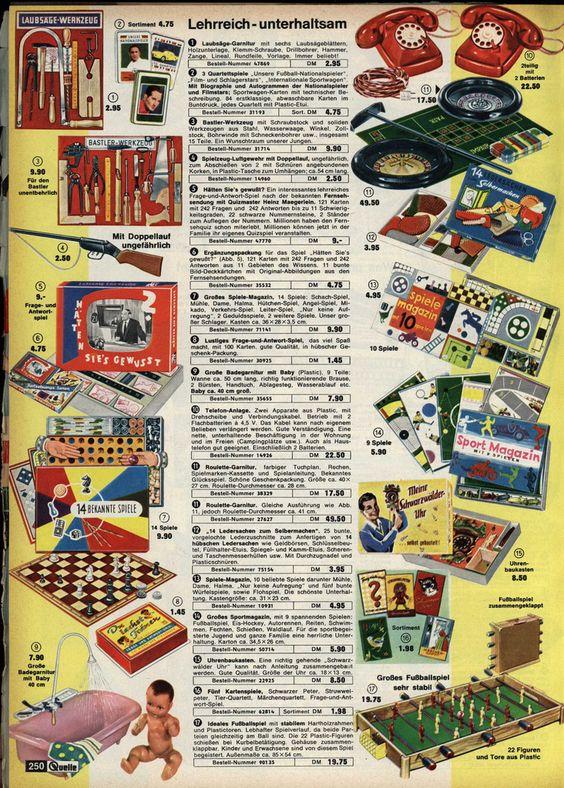 https://flic.kr/p/8Lo9ZU | 1963 Quelle Spielzeug 250